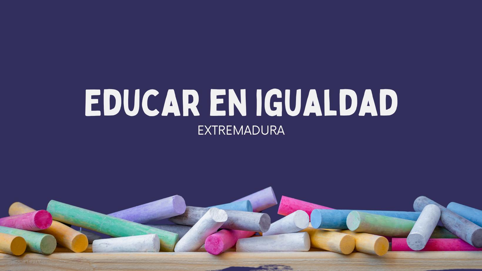 """Featured image for """"Educar en Igualdad Extremadura"""""""