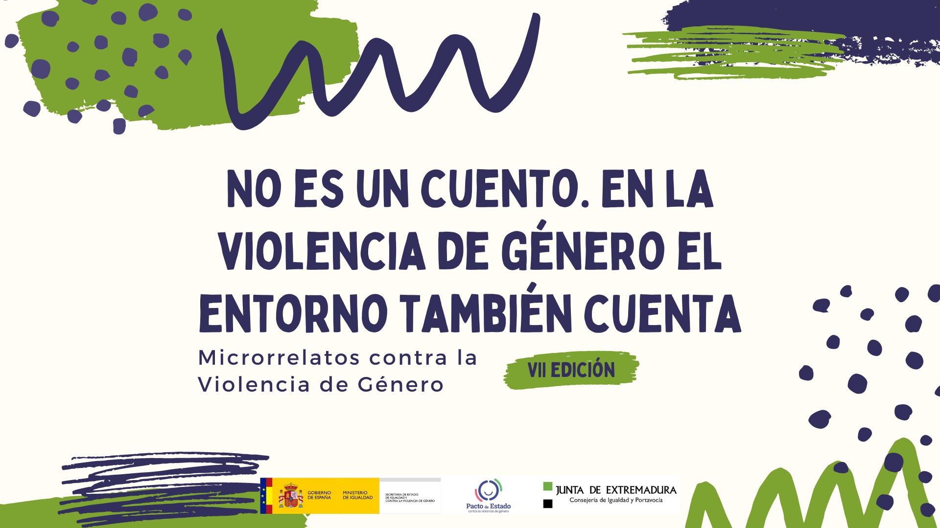 """Featured image for """"VII Edición del Concurso de Microrrelatos contra la Violencia de Género"""""""